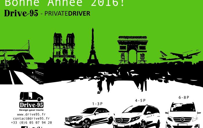 Carte voeux 2016 Drive95